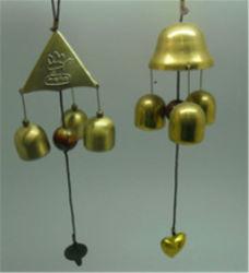 Carillon di vento dell'oggetto d'antiquariato del metallo di arte di piega del Giappone
