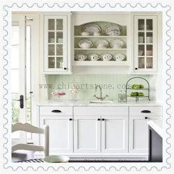 Китайский белого мрамора/Quartz есть раковина и место на кухонном столе для корпуса