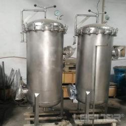 Het Schip van de Filter van de Huisvesting van de Filter van de Patroon van het roestvrij staal voor de Behandeling van het Water