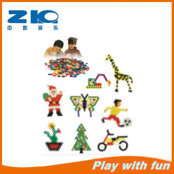 Animal 2015 New Hot Sale Kids Eco-Friendly Non-Toxic Plastic Toy House Building Blocks