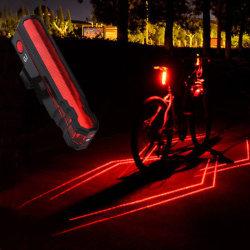 2018 van de LEIDENE van de Laser van de Fiets van de Veiligheid het Cirkelen Nacht van de Staart Lichte Veiligheid