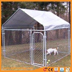 DIY 체인 링크 갈바니ized Dog Kennel