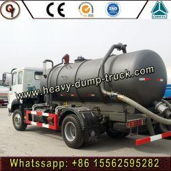 4*2 camion-citerne d'aspiration des eaux usées utilisé chariot d'aspiration des eaux usées