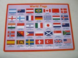 Mot d'un drapeau de l'impression imprimé PVC PP Desk Pad Récapitulatif de fonctionnement