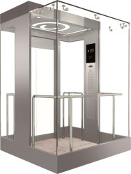 Observación de Control Vvvf ascensor panorámico con sala de máquinas