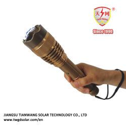 Alliage d'aluminium cuivrée torche électrique avec Flash Light matraques électroniques