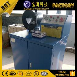 低価格の小さい生産のひだ付け装置油圧出版物のホースのひだが付く機械装置