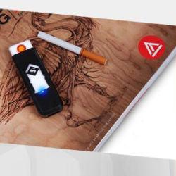 Nouvelle Mode coloré la cigarette électronique plus léger de recharge USB