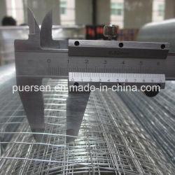 1/2''-6'', la apertura y alambre de hierro galvanizado Material de malla de alambre soldado
