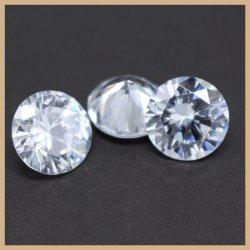 Diamante cúbico frouxo do quilate das gemas do Zirconia do diamante sintético branco para o pendente