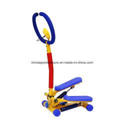 Mini passo passo dei bambini di esercitazione di ginnastica della strumentazione materiale d'acciaio dell'interno di forma fisica