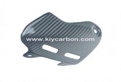 الدراجة النارية جزء الكربون الحرس الحرارة لدوكاتي الوحش