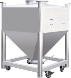 La mezcla de GNV La transferencia de barril para la mezcla de polvos farmacéuticos