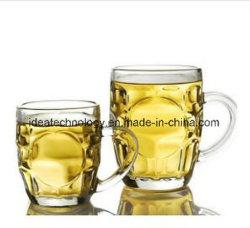 500ml de cor clara de ananás cerveja vidro copos de chá com pega