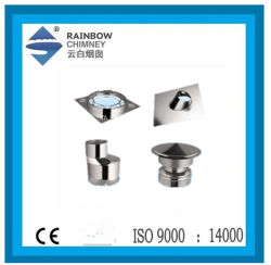 Ce/UL103はステンレス鋼の煙突の部品を証明する