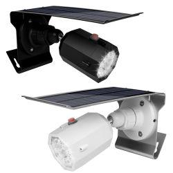 Nueva cámara de simulación solar LED Lámpara de inducción al aire libre jardín exterior resistente al agua de la luz de la calle de la pared del hogar