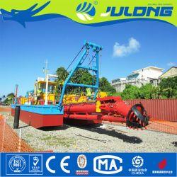 販売に川で使用する油圧砂の浚渫船