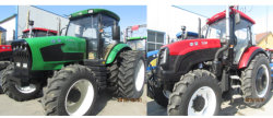 ISOのセリウムEPA Approved Popular Yto Engine 150HP 4WD Four Wheel Farm Tractor