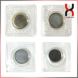 의류 (D18*2mm)를 위한 방수 PVC 자석 단추