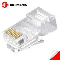 Oferta de fábrica directamente CAT5e UTP RJ45 8P8C Plug modular para cable plano