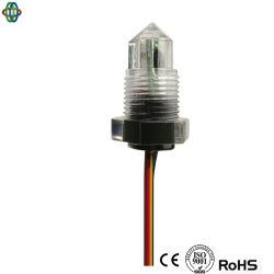 Regolatore automatico della pompa del livello d'acqua della pompa ad acqua del sensore di applicazione dell'interruttore del PVC del livello del sensore livellato ottico industriale del trasmettitore 24V per l'acqua della perdita