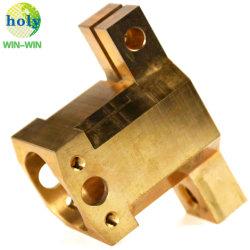 CNC van het koper Malen die de Mechanische Delen van de Component met Messing machinaal bewerken