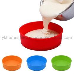 Grosse Größen-Silikon-Kuchen-Backen-Wannen-runde Brot-Wannen für Bakeware