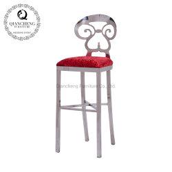 Un style simple Chaires de barres en acier inoxydable