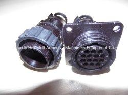 مستديرة [14-كر] طي مفصل فلق إنصهار حارّة لصوقة آلة تركيبات [أمب] وصلة