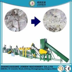Full automatic resíduos plásticos de PP PE de HDPE da película de LDPE Garrafas Pet Flocos de reciclagem de PVC máquina de lavar com alta capacidade