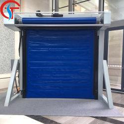 Kühlraum Wärmeisolierte Hochgeschwindigkeits-Schnellrolltür Für Tiefkühlschränke