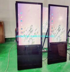 Складные ЖК портативный цифровой Кафе рекламы Тотем видео плеер на экране дисплея