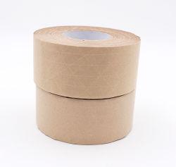 Nastro gommato d'imballaggio del Brown del rullo autoadesivo della carta kraft