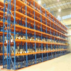 Het op zwaar werk berekende Rek van de Pallet van het Metaal Selectieve voor de Industriële Oplossingen van de Opslag van het Pakhuis