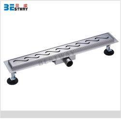 Multi-Tipo spreco della griglia del coperchio del setaccio dello scolo di pavimento di rettangolo dell'acciaio inossidabile degli scoli di pavimento della stanza da bagno 304