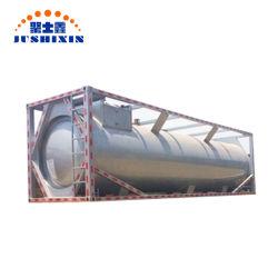 Стандарт ISO 20 ФУТОВ 40 ФУТОВ воды и дизельного топлива и бензина и сырой нефти цистерны для хранения