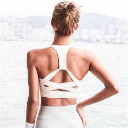 [سوبّلإكس] 87% نيلون 13% [سبندإكس] بناء عادية تأثير صدمة تمرين بدنيّ [سبورتس] تدريب صديرية