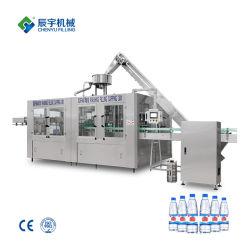 Volautomatische Minerale Pure Drinkfles Water Wassen Vullen Afdekken 3in1 Monoblock Spoelen Vullen Afdichten Machine