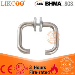 De aço inoxidável 304 U puxador de porta