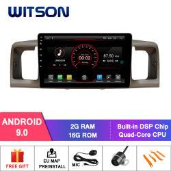 GPS van 9.0 Auto DVD van Witson Androïde voor de Bloemkroon 2007 van Toyota