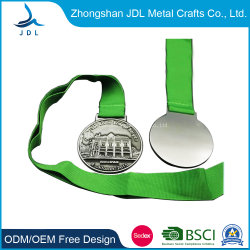 Выштампованные Золотой лист Логотип туристических сувениров Sport Award металлические медальон медаль подвеску (273)