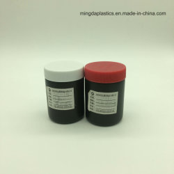 Pet/HDPEのプラスチックビンの王冠の薬のタブレットのヘルスケアの製品容器か瓶