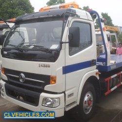 Sinotruk Dongfeng motor Isuzu 6toneladas caminhão de reboque do veículo de reboque de Reversão da Plataforma de Recuperação de reboque veículo