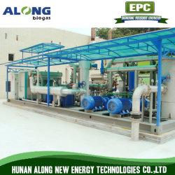Skid-Mounted Biogás gás de aterro a desumidificação desumidificador/Purificação/Sistema de dessulfuração
