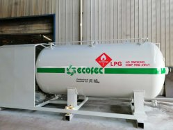 Ecotec Skid para estação de gás GPL