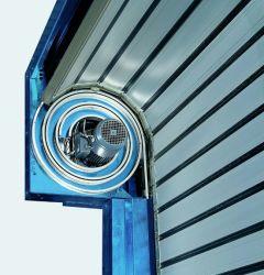 Isolamento térmico Auto Roll-up de metal duro enrolar porta de entrada da garagem de Alta Velocidade