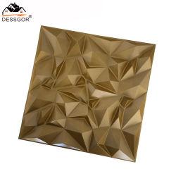 芸術3Dの装飾の壁パネルPVC Wainscotの土台板のダイヤモンドデザイン