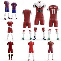 Uniformi di gioco del calcio della gioventù da vendere il pullover di calcio dei capretti del pullover di gioco del calcio sublimato