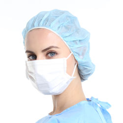 Maschera facciale isolante a 3 strati con supporto per l'orecchio Produttore professionale con CE ISO Export Worldwide maschera facciale per materiali in PP di alta qualità