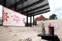 ハイコントラストの高い明るさの商業ショー(500mm*500mm pH3.91 pH4.81)のための屋外のフルカラーのレンタル大きいLED表示スクリーン